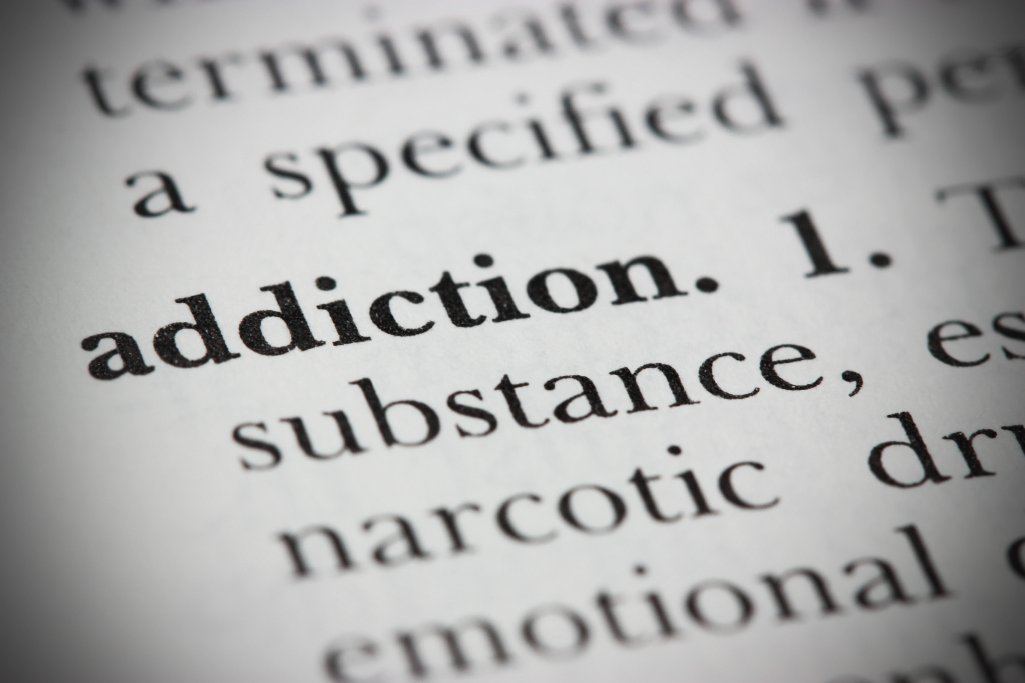 addiction and perception disorder