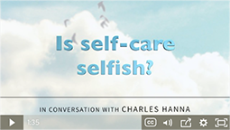 Is self-care selfish?