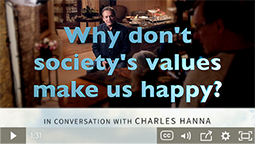 Why don't society's values make us happy?