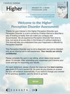 Higher Perception Disorder Assessment